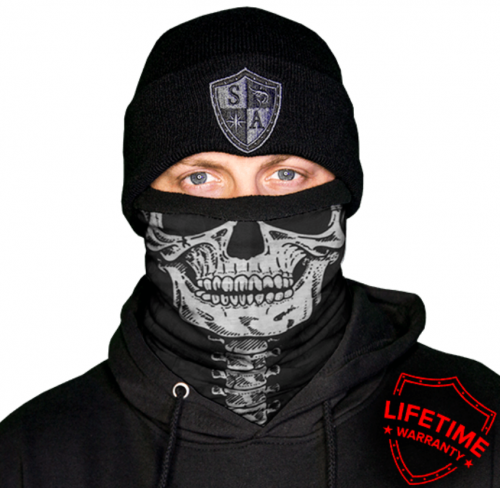 MULTIFUNKČNÁ ŠATKA FROST TECH™ | SKELETON FLEECE LINED