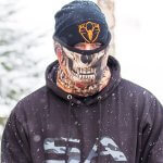 MULTIFUNKČNÁ ŠATKA FROST TECH™ | FOREST CAMO SKULL FLEECE LINED