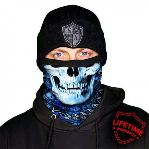 MULTIFUNKČNÁ ŠATKA FROST TECH™ | STEALTHTECH™ | HYDRO SKULL FLEECE LINED