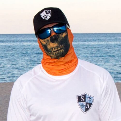 MULTIFUNKČNÁ ŠATKA TACTICAL | ORANGE SKULL