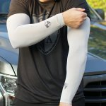RUKÁVNIKY SA SINGLE ARM SLEEVE | GREY | SMALL SHIELD – (2ks)