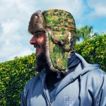 BARANICA TRAPPER HAT | GREEN DIGI