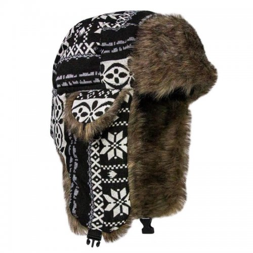 BARANICA TRAPPER HAT | NORDIC | BLACK