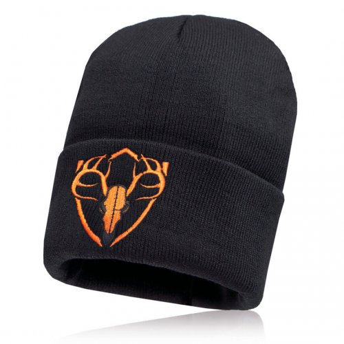 ČIAPKA SA BEANIE | BLACK | ORANGE SHARP SHOT